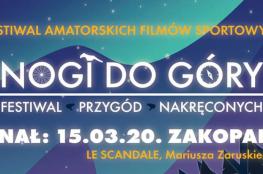Zakopane Wydarzenie Festiwal NOGI DO GÓRY FESTIWAL FILMÓW SPORTOWYCH
